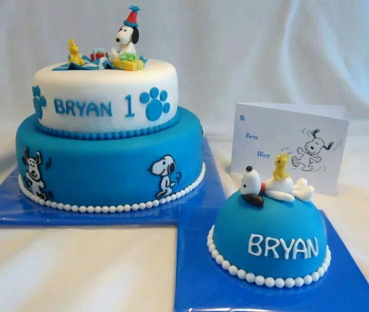 Snoopy taart