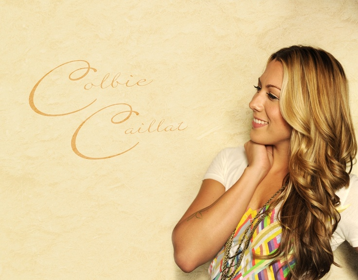I love Colbie Caillat. . .