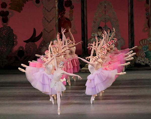 "New York City Ballet performing ""The Nutcracker"""
