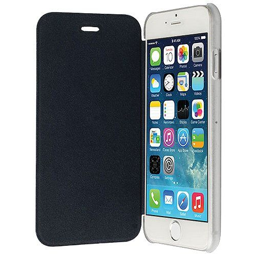 2155685638 Amzer Flip Case Cover for iPhone 6 Plus, Retail Packaging, Black:  Amazon.ca: Cell Phones & Accessories