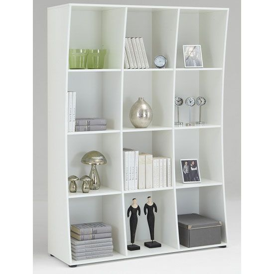 White Shelving Unit ~ http://modtopiastudio.com/unusual-shelving- - 39 Best Images About Unusual Shelving Units On Pinterest White