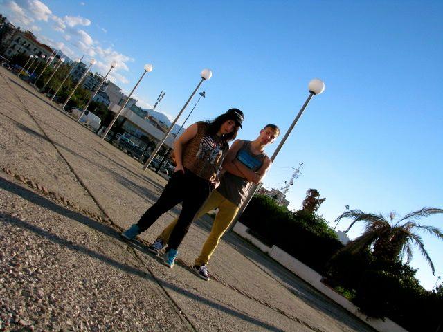 Chrysa Stam & Bboy Mugi !