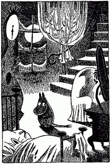 Tove+Jansson+moomintroll.gif (389×572)
