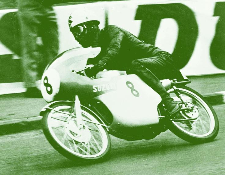 Mitsuo Ito, Suzuki, Isle of Man TT, 1963