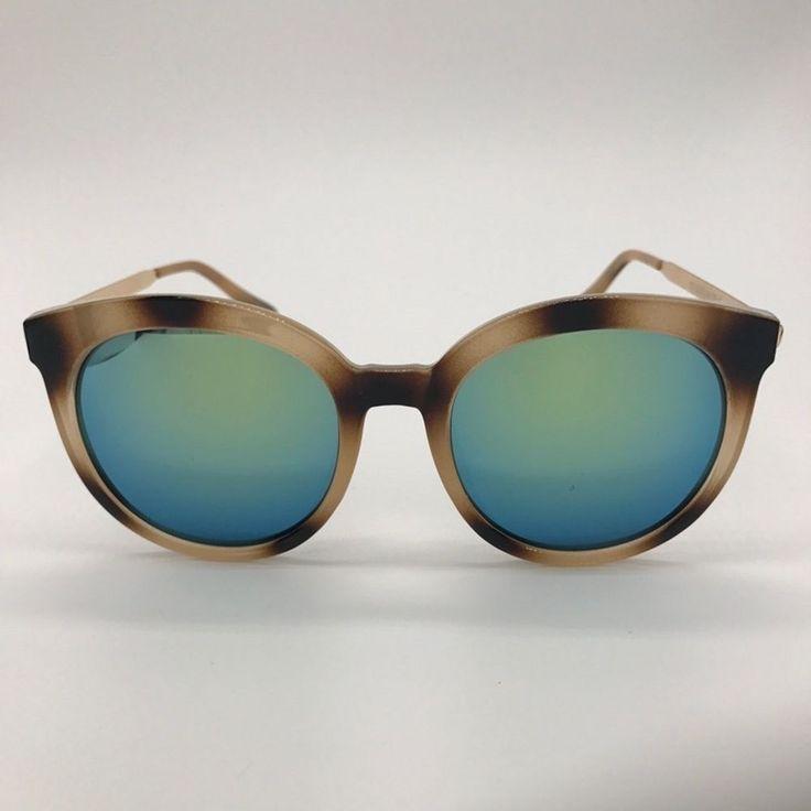 bd EYEWEAR New Vintage Retro Fashion Women Mirror Sunglasses Leopard Frames MS4 #bdEYEWEAR #Oval