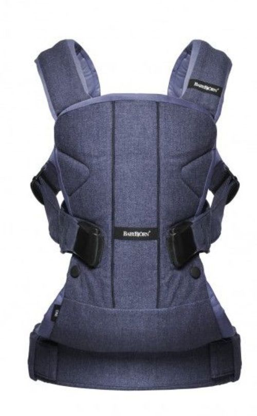 BabyBjorn Baby Carrier One - Denim Blue - The Nile