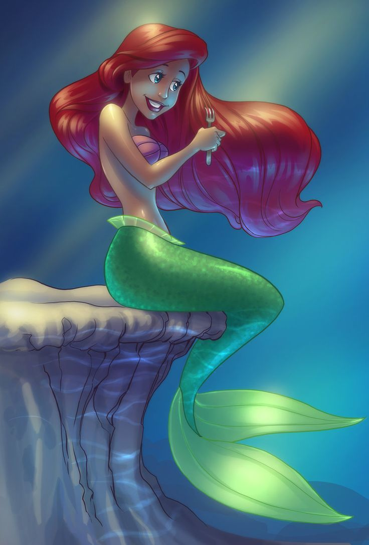 *ARIEL ~ The Little Mermaid, 1989