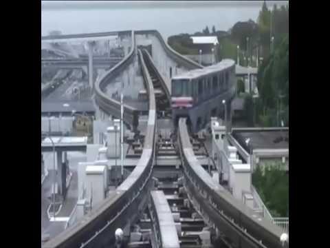 Japonya'daki İnanılmaz Tren Yolu! ABONELER BEKLERİZ TŞK