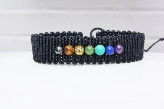 Chakra Bracelet  Handcrafted Macrame Chakra Bracelet от Chaomi
