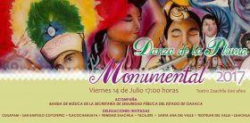 Realizarán en Zaachila Encuentro Monumental de la Danzade la Pluma