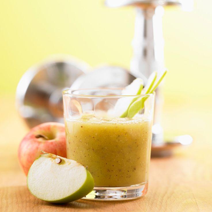 Découvrez la recette du smoothie aux pommes