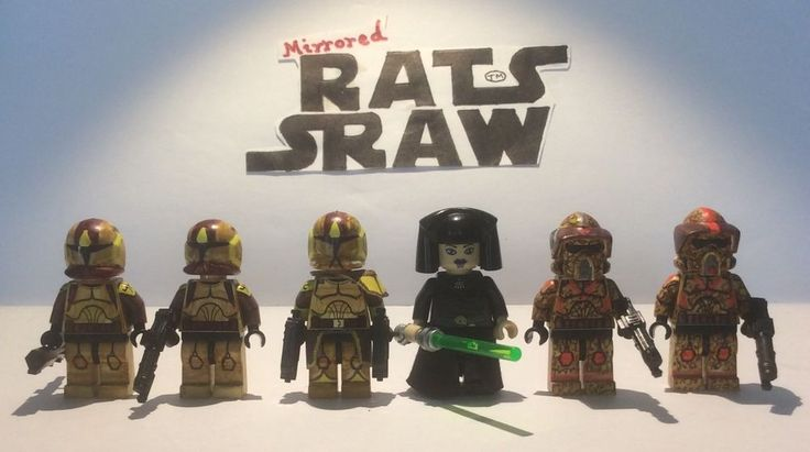 Lego Star Wars minifigures - Clone Custom Troopers - PRIVATE LISTING LAMSROC
