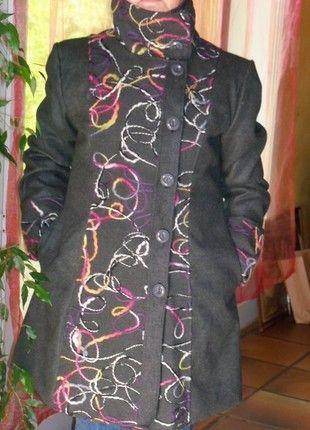À vendre sur #vintedfrance ! http://www.vinted.fr/mode-femmes/manteaux-dhiver/25080878-79-euros-neuf-classe-manteau-gris-taille-xl-l