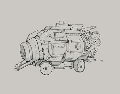 """Check out new work on my @Behance portfolio: """"Concept Sketches 4"""" http://be.net/gallery/51198923/Concept-Sketches-4"""