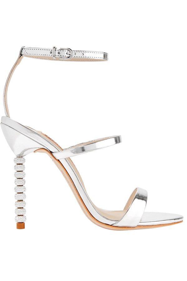 4d8c27f84 Silver wedding stilettos. Silver wedding stilettos Sparkly Wedding Shoes ...
