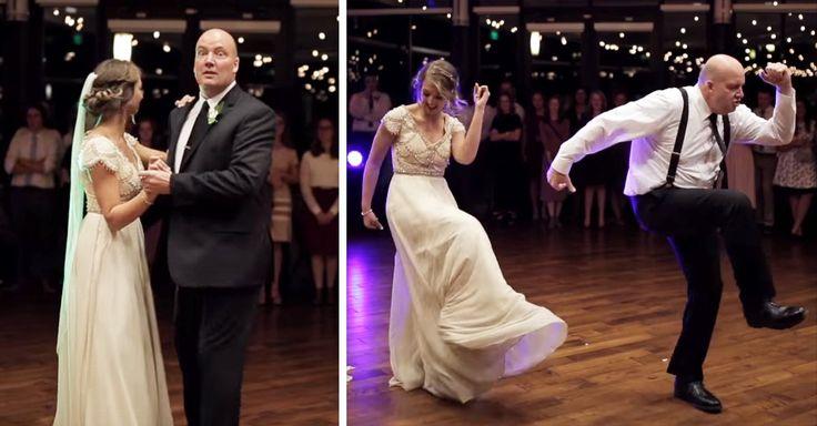 Todo papá sueña con acompañar de manera especial a su hija en el día de su boda; esta novia tuvo el mejor baile padre e hija y su coreografía se volvió viral