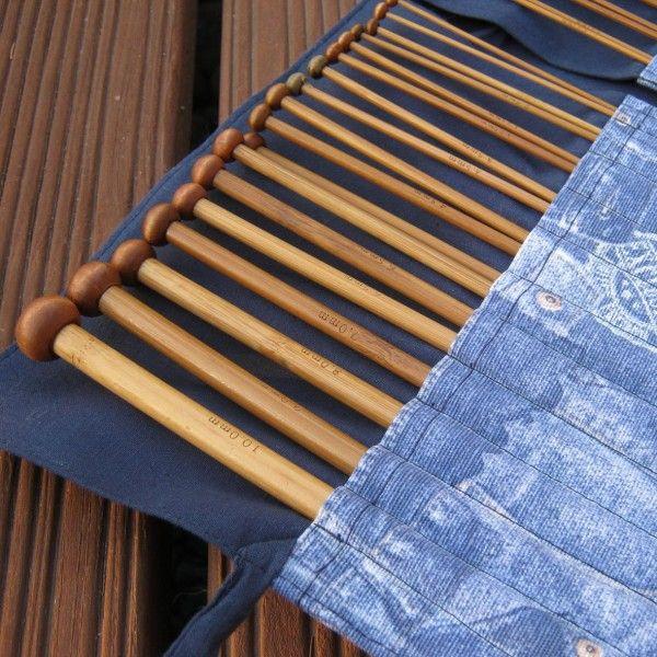"""""""Farmer"""" 18 db-os bambusz kötőtű készlet"""