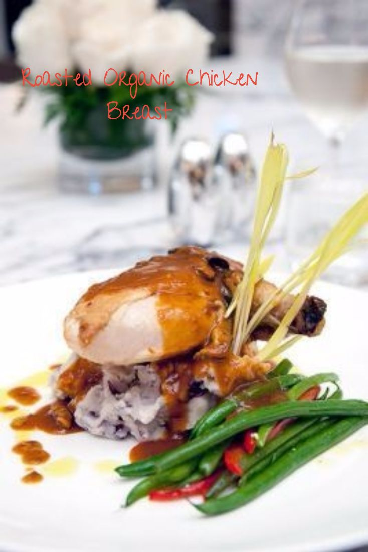 Roasted Organic Chicken Breast from Ziran Restaurant! Located right inside the trendy Downtown LA hotel The LA Hotel Downtown. #restaurant #ziran #chicken #chickenbreast #organic #organicchicken #organicfood #foodie #la #losangeles #lafood #delicious #eateries