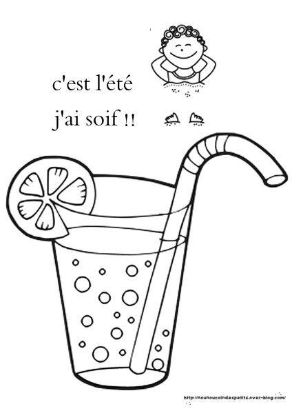 Pour l 39 ete sapin pinterest sapin maternelle et - Dessin de verre ...