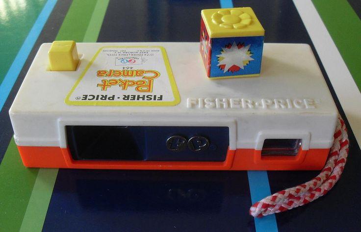 Vintage Toys 1970s   1970s Fisher Price Pocket Camera 1974 vintage toy 1 - a photo on ...