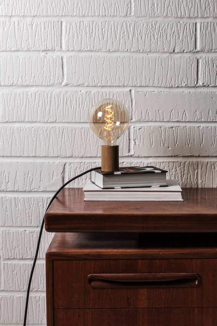 Teardrop st64 william and watson vintage edison bulb industrial light - Gaia Touch Lamp This Unique Table Lamp Design Is The Perfect Way To Exhibit