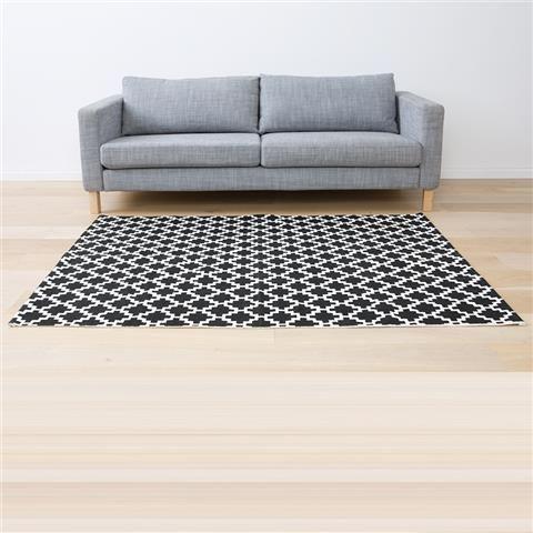 Floor Rug - Black Diamond | Kmart