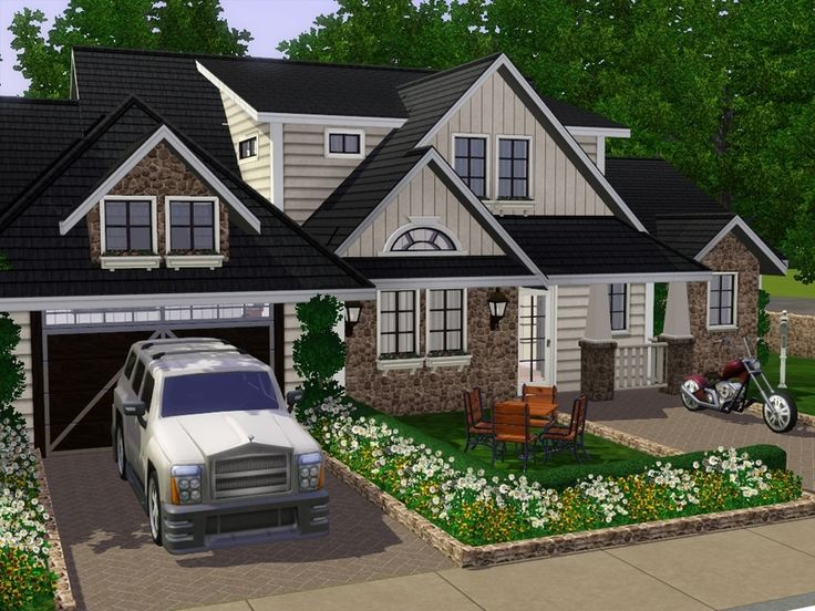 some years ago i built a ranch for barbara. my sim sister and dear