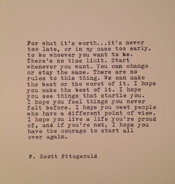F Scott Fitzgerald Quotes About Love : ... Wren Scott, Quotes, Favorite Quote, Too Late, F Scott Fitzgerald