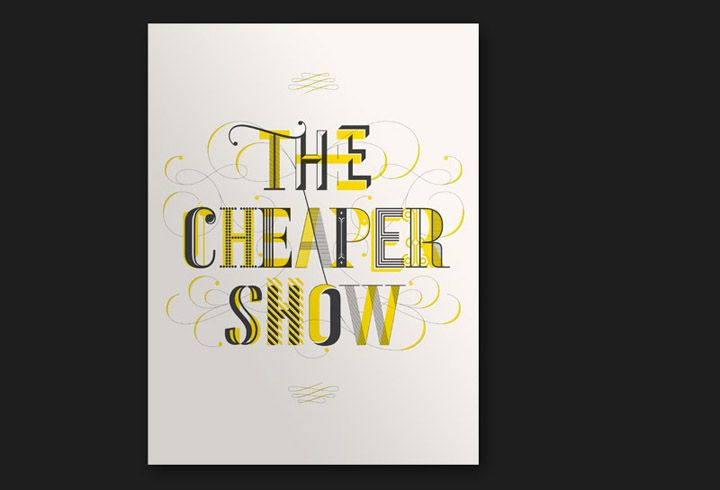 Working Format - The Cheaper Show poster