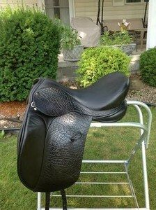 "Ideal Jessica 18"" medium tree dressage saddle for sale in NY"