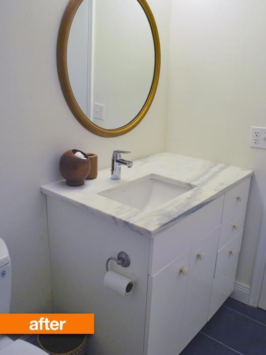 196 Best Images About Bathroom Ideas On Pinterest Toilets Sarah Richardson And Framing A Mirror