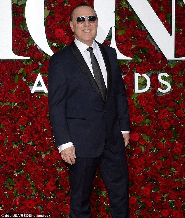 Open letter: Tommy Mottola, shown in June 2016 in New York City, penned an open letter published on Wednesday urging ex-wife Mariah Carey to upgrade her support staff