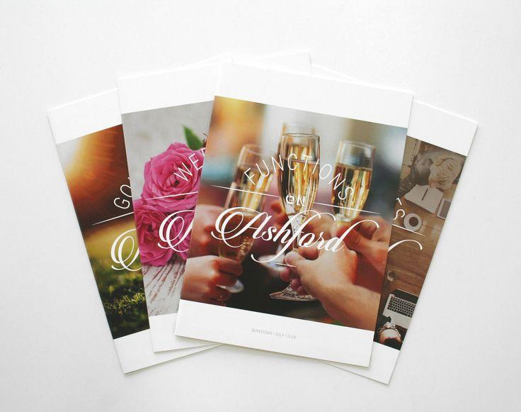 Bankstown Golf Club – design of brochure range
