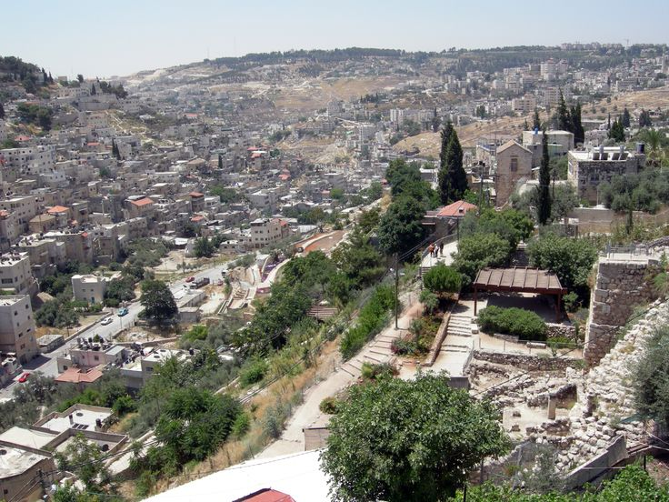 """Kidron Valley aka the Valley of Jehoshaphat (""""Yahweh shall judge"""" )"""