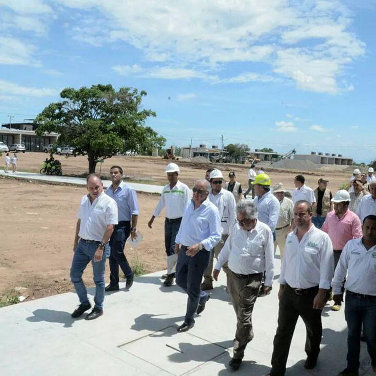 El rector Ignacio Mantilla visitó el municipio de La Paz durante la instalación de la veeduría ciudadana.