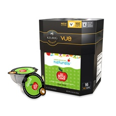 Green Mountain Coffee Apple Cider Packs for Keurig Vue Brewers $12.99 (www.bedbathandbeyond.com or keurig.com)