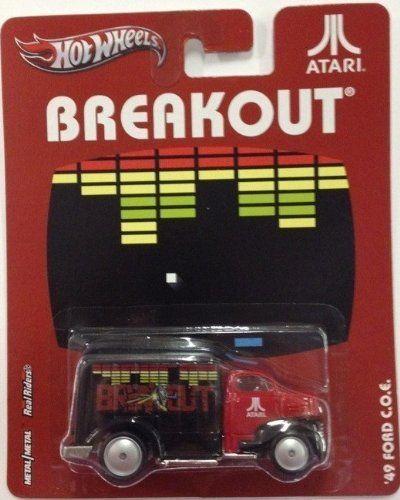 '49 FORD C.O.E. BREAKOUT * Atari Hot Wheels 2012 Nostalgia Series 1..HACE UN PAR DE AÑOS,QUE VENDÍ ÉSTA SERIE...