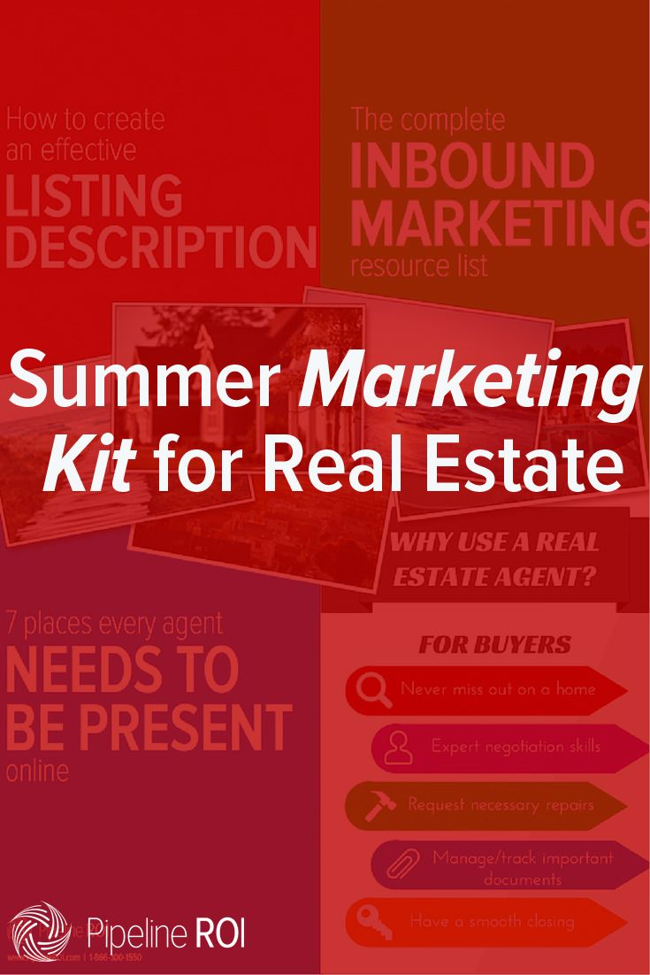 Summer is a busy time for real estate pros. We've put together a summer marketing kit that's designed to give you quick wins, time-saving resources, and ideas you can execute on the fly. #real #estate #realtor