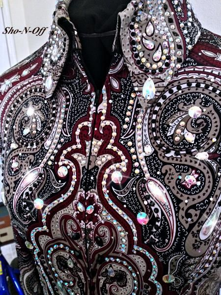 HORSE SHOW CLOTHING, WESTERN HORSE SHOW APPAREL-SHO-N-OFF Love this one!