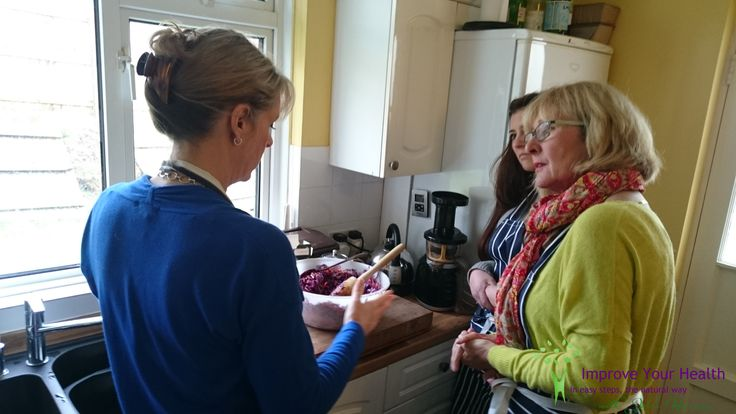 Jacqueline and Kelly discovering some tips and hints during their Gut Health Workshop