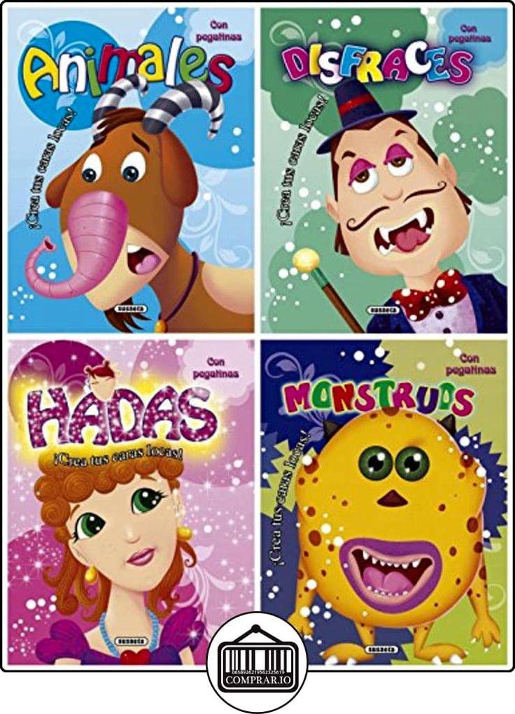 Caras locas (4 títulos) de Susaeta Ediciones S A ✿ Libros infantiles y juveniles - (De 0 a 3 años) ✿