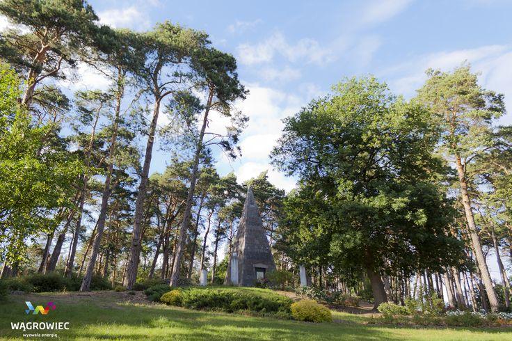 Piramida Łakińskiego #wagrowiec #wielkopolska #piramida #Napoleon #polska #poland #las #forest #trees #piramide #wągrowiec  Fot. Ł. Cieślak