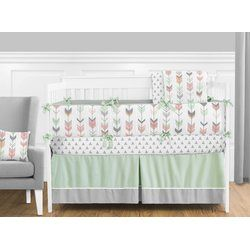 Let the little one in your home settle down to sleep in this incredible nursery set.