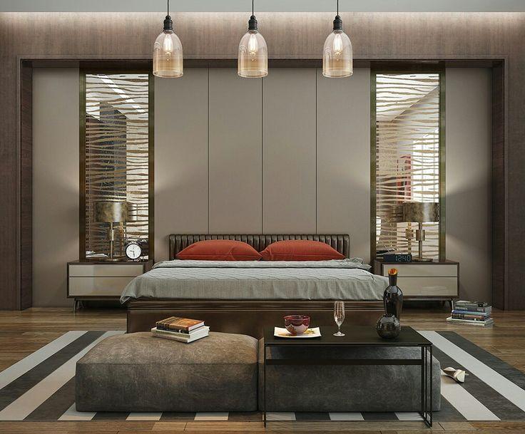 bedroom . hotel . contemporer . luxury . modern