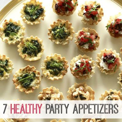 Serve these light-but-flavorful starters at your New Year's Eve party. #NYE #NewYears #2014