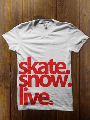Skate, Snow, Live.