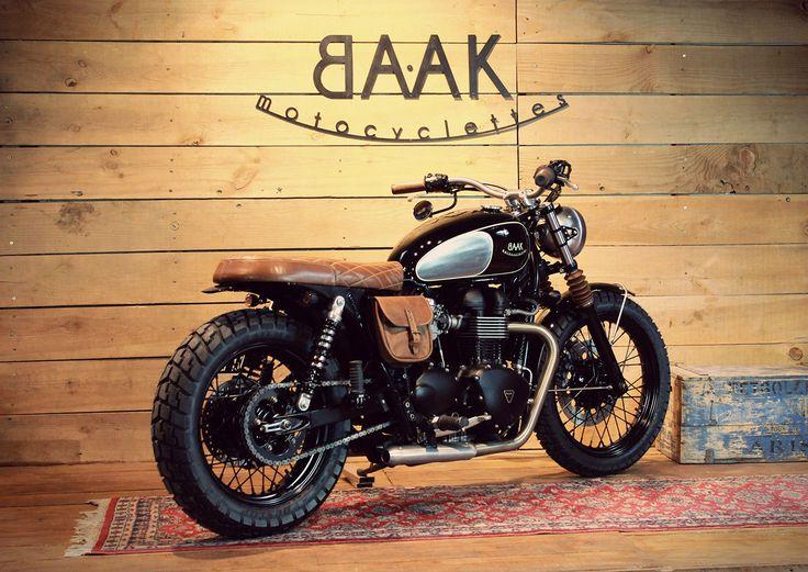 Une Triumph Bonneville pour Éric, le Dandy Rider – Weblog BAAK