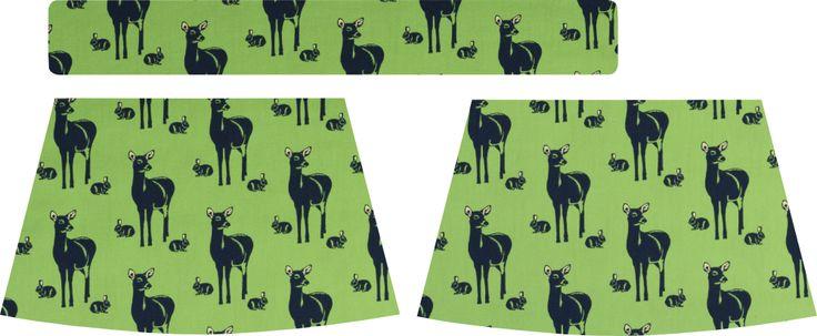 Jupe elastiquée pour fille. De la taille 3 mois à 10 ans . Matériel: * Tissu – coton - Soft Cactus, Oh Deer ( jupe...