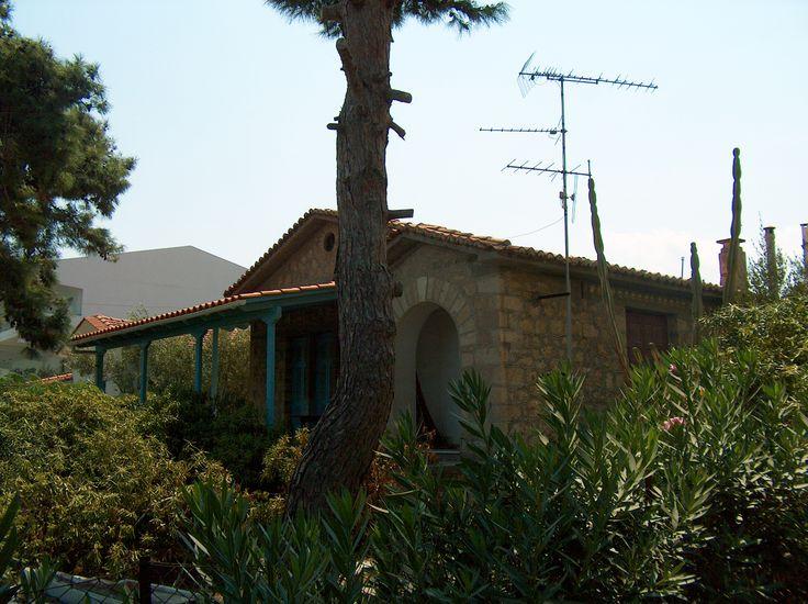 The family home of poet Kostis Karyotakis, in Sykia.