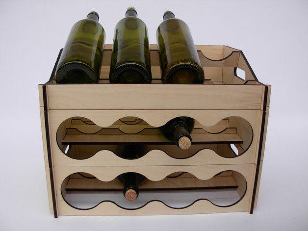 nowy zestaw dostępny już na Dawanda, new wine rack